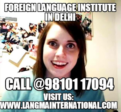 Foreign Language institute in Delhi