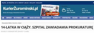 http://kurierzurominski.pl/538578,14-LATKA-W-CIAZY-SZPITAL-ZAWIADAMIA-PROKURATURE.html