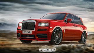 Harga Rolls Royce Cullinan