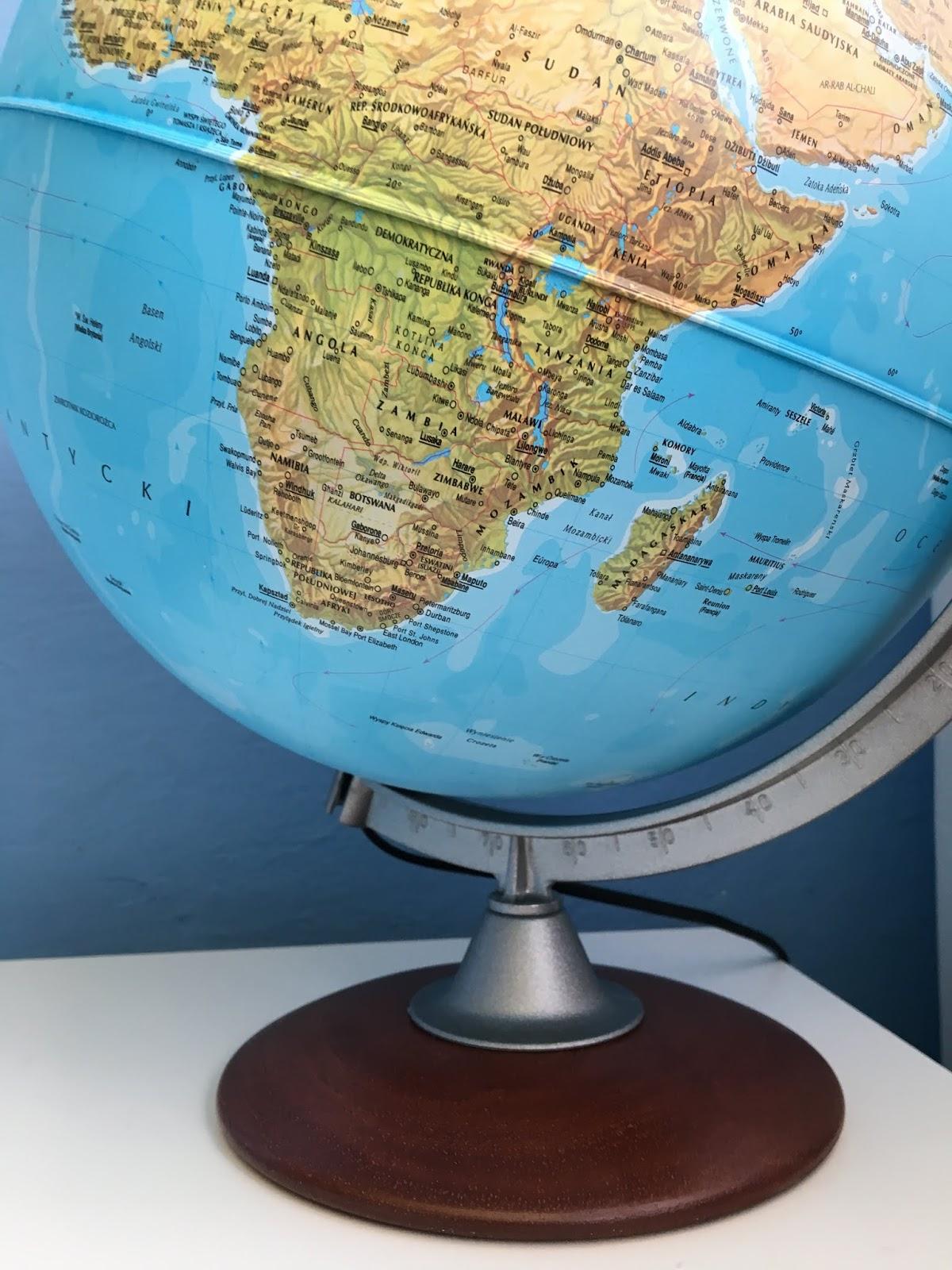 jaki globus dla dziecka