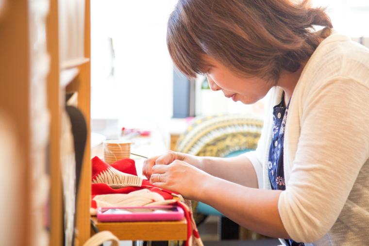 Megumi Project repurposes vintage kimonos