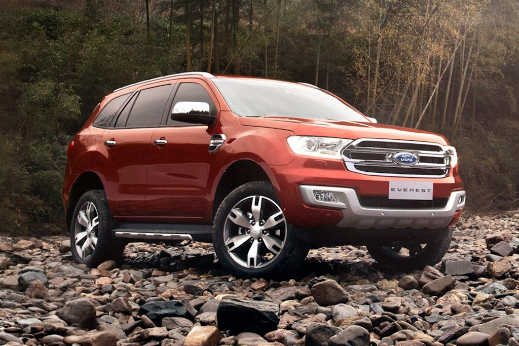 6 Passenger Suv >> UPDATED: Ford Philippines Reveals 2015 Everest Specs, Model Variants, and Pricing   Philippine ...