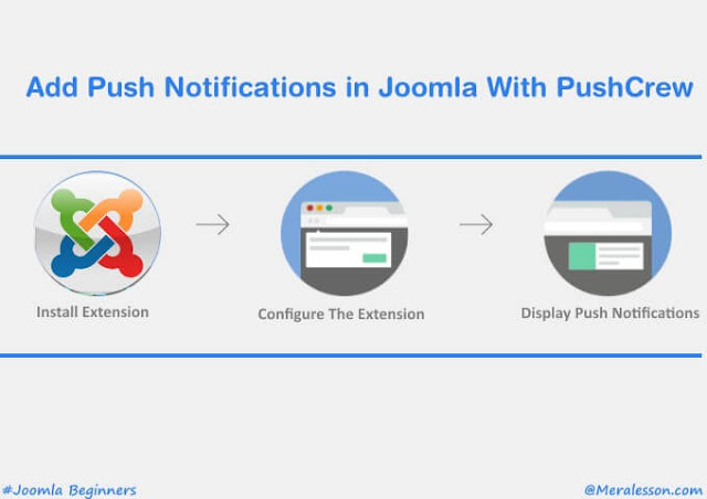 Add Push Notification in Joomla