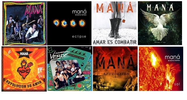 Manà Discografia Completa 1981 a 2011 Descargar 320Kbps 18 CDs