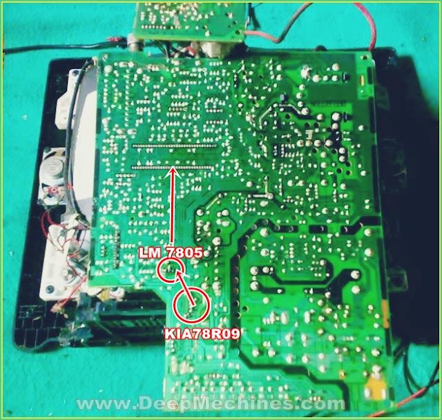 Perbaikan Kerusakan Mati Standby TV LG 14-Inch Model: 14FU7AB