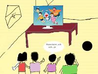 Tutorial Desain Grafis - Membuat Kartun Doraemon dengan Photoshop