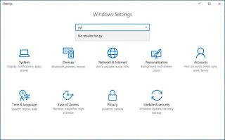 Sửa lỗi Settings không hiển thị kết quả tìm kiếm trong Windows 10