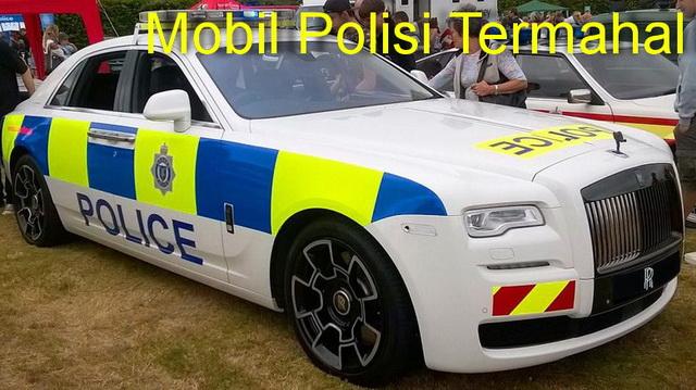 Mobil Polisi Termahal, Cepat dan Mewah
