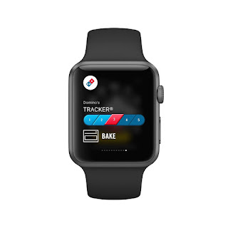 track pizza with apple watch