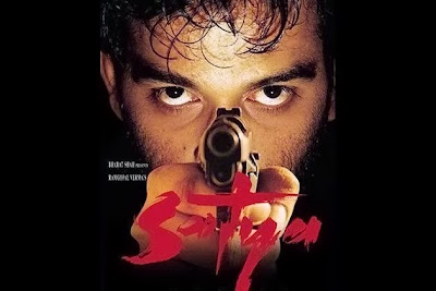 Poster Of Bollywood Movie Satya (1998) 300MB Compressed Small Size Pc Movie Free Download worldfree4u.com