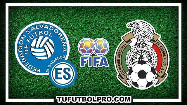 Ver El Salvador vs México EN VIVO Por Internet Hoy 2 Septiembre 2016