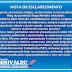 Nota de esclarecimento vereador Gerivaldo Benício (PDT)
