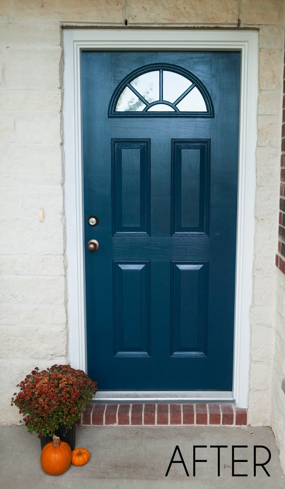 Entry Front Doors: MyBellaBug : Curb Appeal: Freshly Painted Front Door