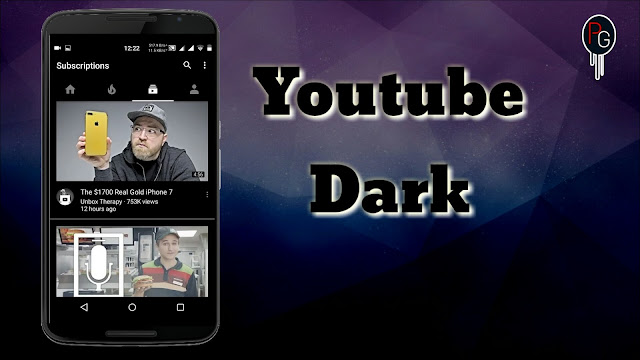 YOUTUBE IN DARK MODE ANDROID! [LP-MM-N]