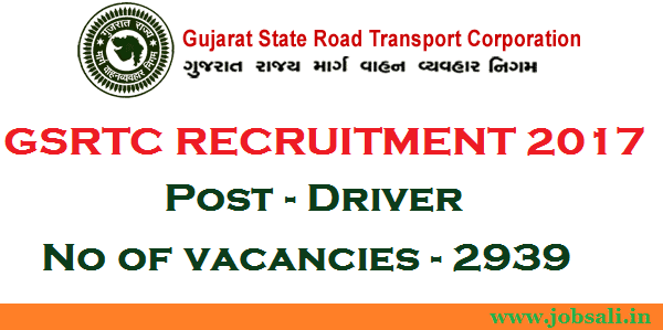 jobs in ahmedabad, gsrtc driver bharti 2017, 12th pass government jobs in gujarat