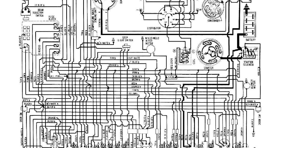 Free Auto Wiring Diagram: 1960 Chevrolet Corvette Wiring Diagram