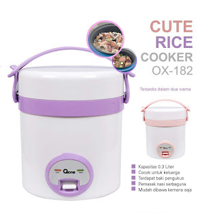 OX-182 | CUTE Rice Cooker Oxone 0.3 Lt