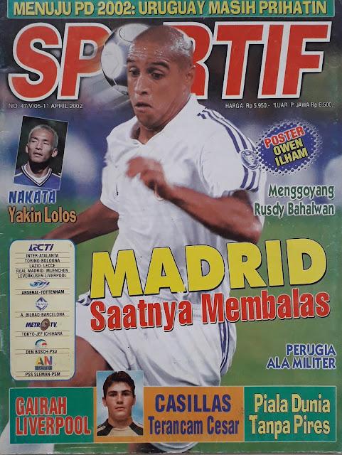 MAJALAH SPORTIF: MADRID SAATNYA MEMBALAS