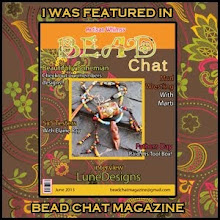 Lune at Bead Chat magazine