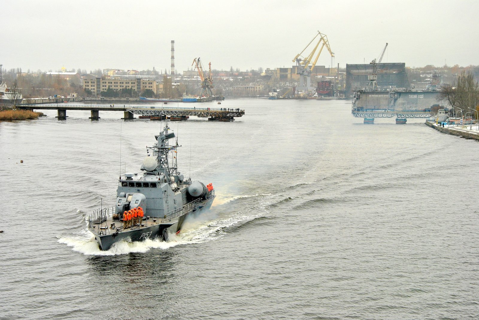 Ракетний катер ВМСУ «Прилуки» вийшов з ремонту