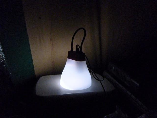Sun Bell solar light from the Solar Light Co
