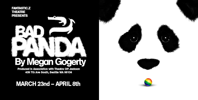 Bad Panda graphic: text as below on the Left and Panda face on theRight.