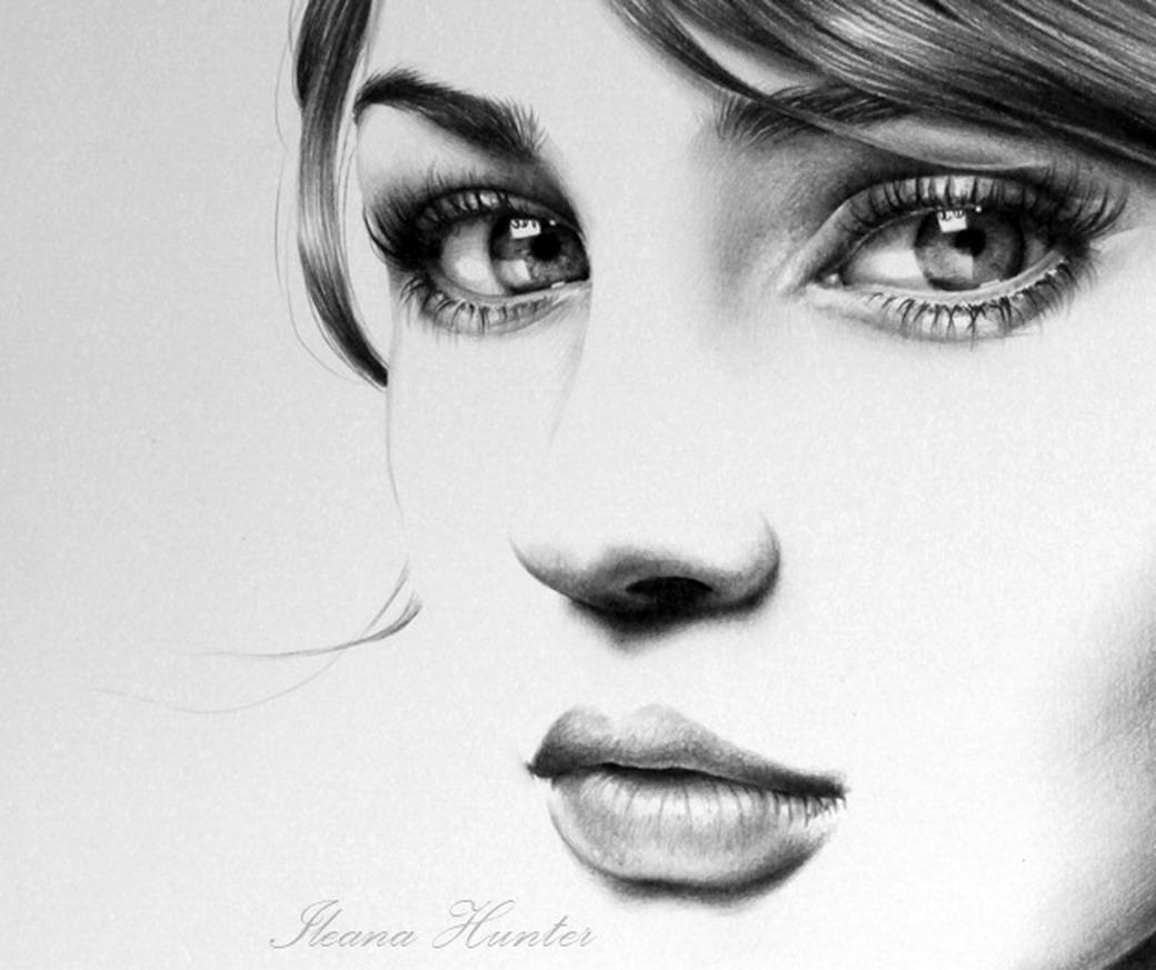 ===Quier,pero no...=== Dibujos-celebridades-bonitas-lapiz-mujeresileana-hunter_02