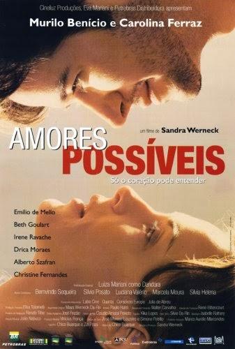 """Capa do filme """"Amores Possíveis"""" (2001)."""
