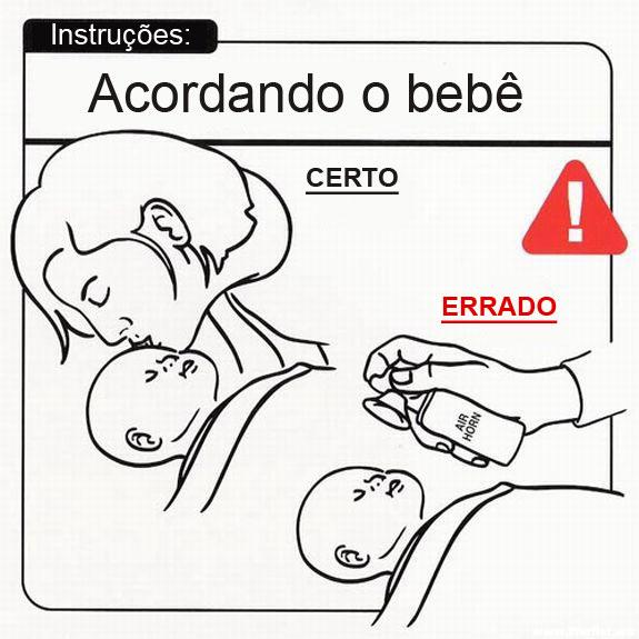 Manual de instruções de como cuidar do seu bebê [28 Fotos
