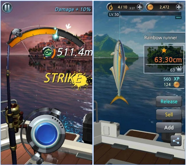 screenshot Fishing Hook v1.2.5 Apk Mod