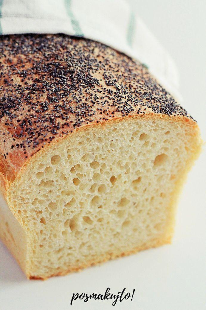 latwy chleb pszenny z makiem na drozdzach