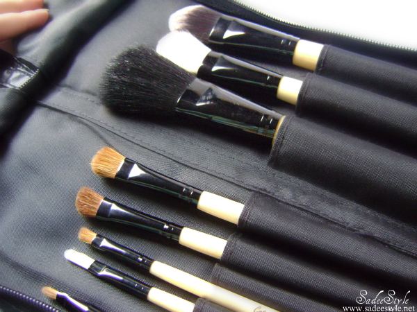 Luxury sable makeup brushes by Catwalk Glamour