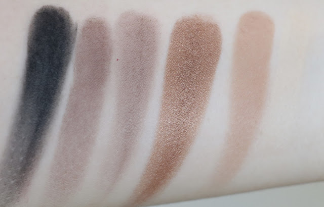 rodial makeup review eyeshadow palette swatch