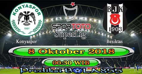Prediksi Bola855 Konyaspor vs Besiktas 8 Oktober 2018