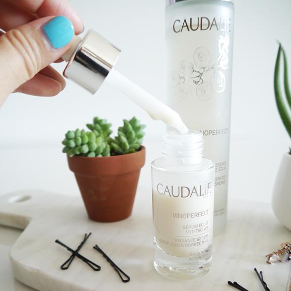 Caudalie Vinoperfect Complexion Correcting Radiance Serum dropper bottle