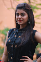 Actress Yamini Bhaskar in a Tight Black Sleeveless Dress ~  Exclusive 16.JPG