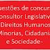 Questões concurso Consultor Legislativo - Direitos Humanos, Minorias, Cidadania e Sociedade