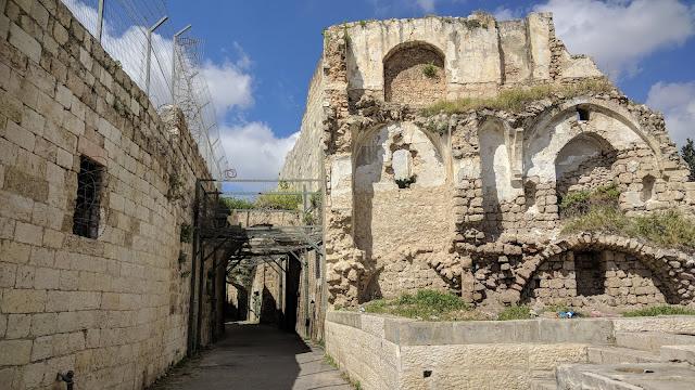 הדרך העתיקה בין יפו לירושלים במאה ה- 19