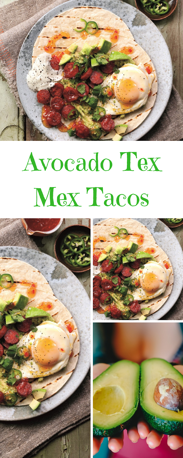 Avocado Tex Mex Tacos