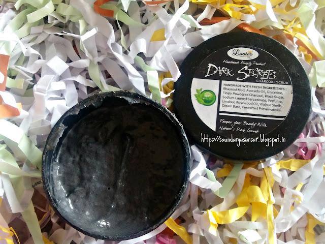 Luster Dark Secrets Charcoal Scrub Review