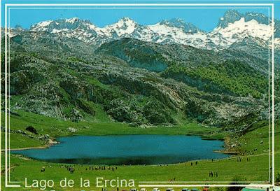 Lago Ercina y Macizo de Peña Santa, postal