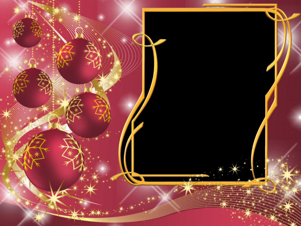 Шаблон на открытку новый 2014 года, спокойной ночи