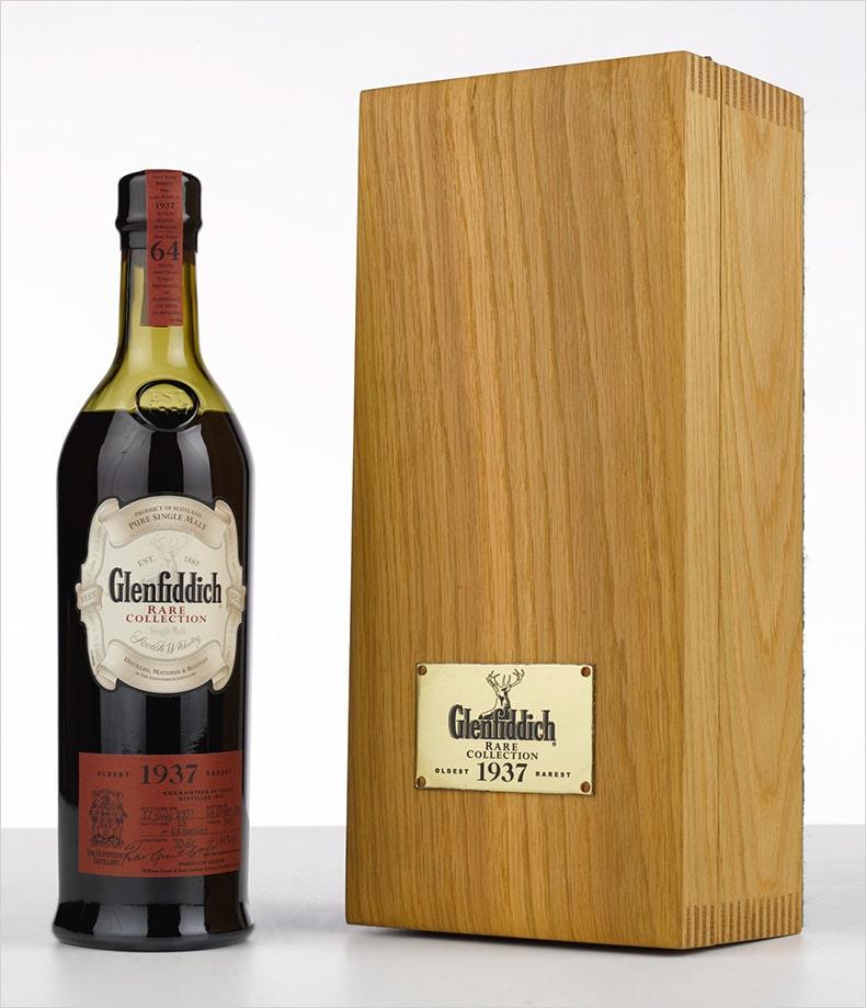 Бутылка дорогого виски