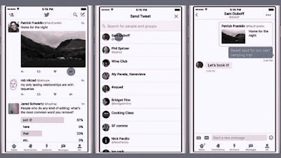 En el 2015 creció el uso del mensaje directo y ésto propulsó la decisión de Twitter de poner en los móviles ANDROID E iOS, fundándose en que Twitter vio en el 2015 avanzar en su segunda mitad, el uso del mensaje directo en un 200%.