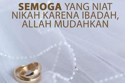 Kamu Menikah karna apa?