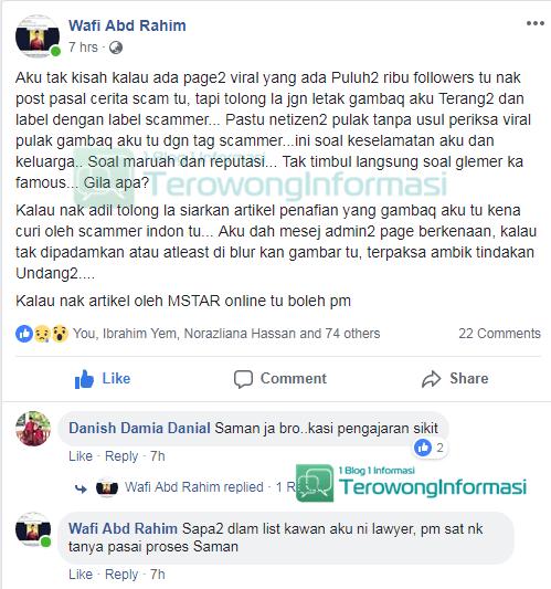 Gagal Dapat No TAC, Scammer Balas Dendam Kepada Mangsa