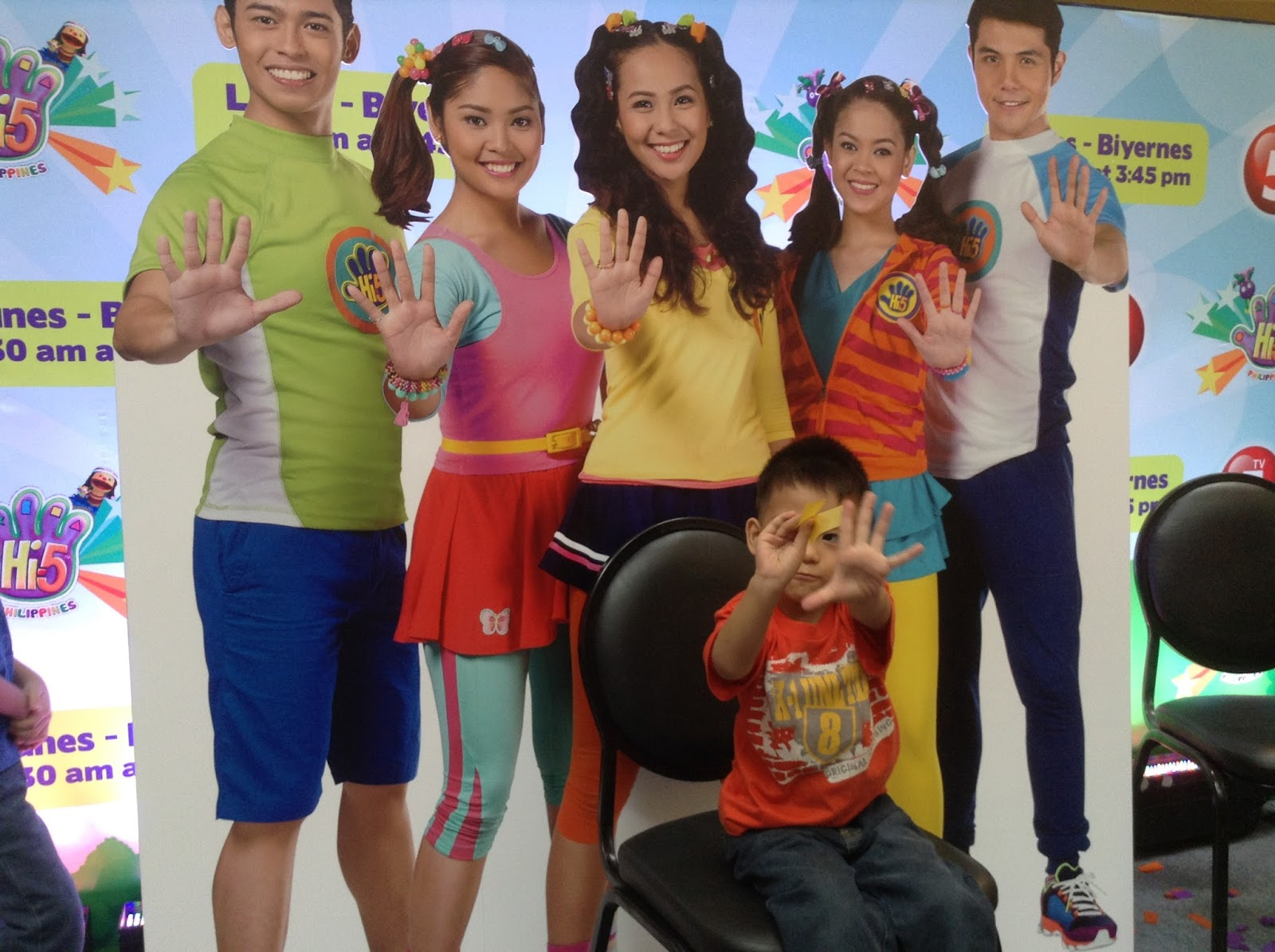 Hi-5 Philippines Cast Made First Public Appearance - Kwento Ni Toto