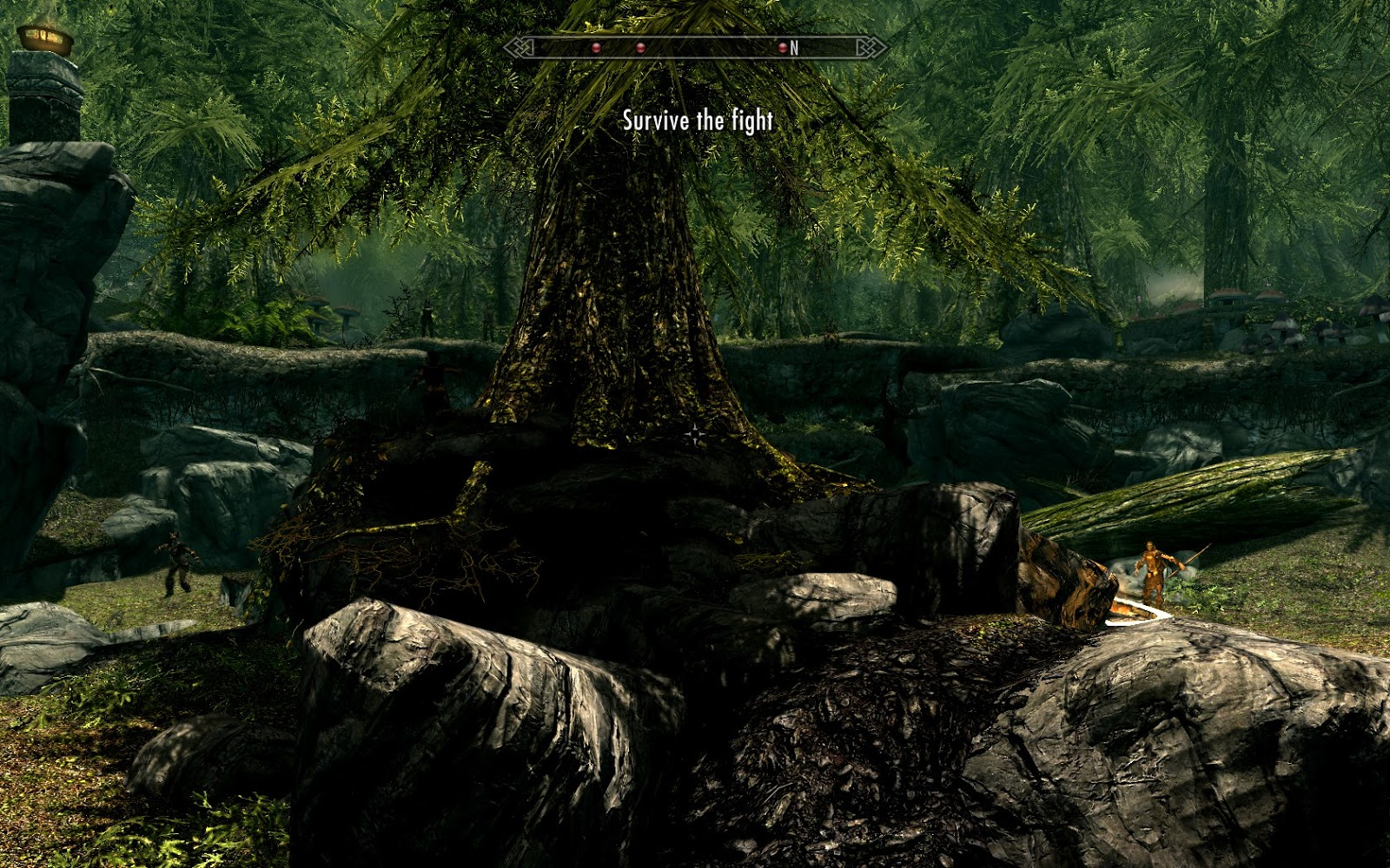 Nerdy Girl: Playing Skyrim quest mods: Pit Fighter & Pit
