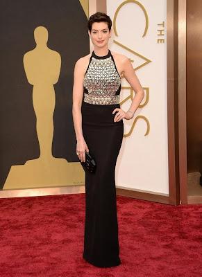 Oscars 2014 Anne Hathaway
