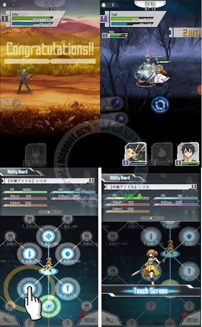 Game Sword Art Online Memory Defrag Apk Terbaru Android